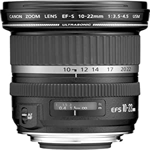 Canon EF-S 10-22mm wide angle lens