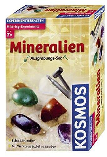 Mitbringspiel Experiment KOSMOS 630447 Mineralien