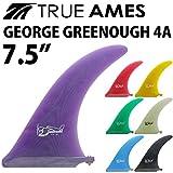 """ロングボード用センターフィン TRUE AMES GEORGE GREENOUGH 4A 7.5"""" トゥルーアームズフィン ジョージグリーノウ シングルフィン"""