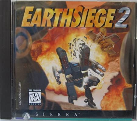 EarthSiege 2 - CD-ROM - For Windows 3.1 and 95
