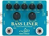 HAO BL-1 BASS LINER BASS 5-BAND EQ PREAMP ベースプリアンプ