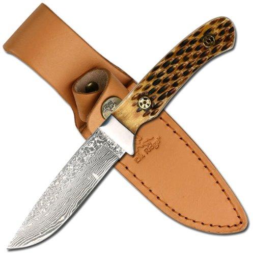 Elk Ridge Er-262Db Fixed Blade Knife 7.5-Inch Overall