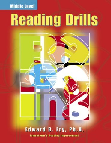 Reading Drills Middle (Jamestown's Reading Improvement: Middle Level)