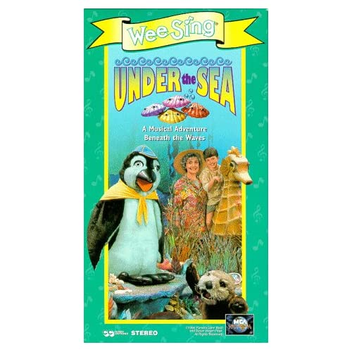 Wee Sing The Best Christmas Ever Vhs.Wee Sing Under The Sea Vhs Vhs Tape Wee Sing