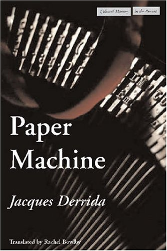 Paper Machine (Cultural Memory in the Present)