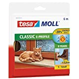 "tesa 05463-00121-00 tesamoll Classic E-Profil-Gummidichtung braunvon ""tesa"""