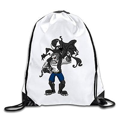 BENZIMM Lobo Vs Venom Drawstring Backpacks/Bags