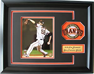 CGI Sports Memories SF Giants Tim Lincecum Photo Frame with 3D Double Mat by CGI Sports Memories