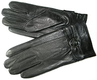 LIC Women's Winter Gloves - Featuring a Buckle Carf Detail