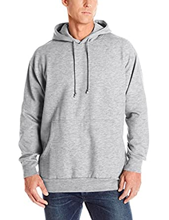 Russell Athletic Men's Big & Tall Fleece Pull-Over Hoodie, Heather Grey, 2XT
