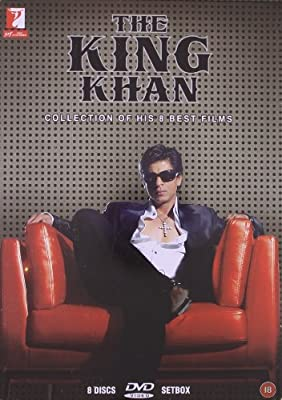 The King Khan Shahrukh Khan 8 DVD Set (Bollywood DVD's With English Subtitles)