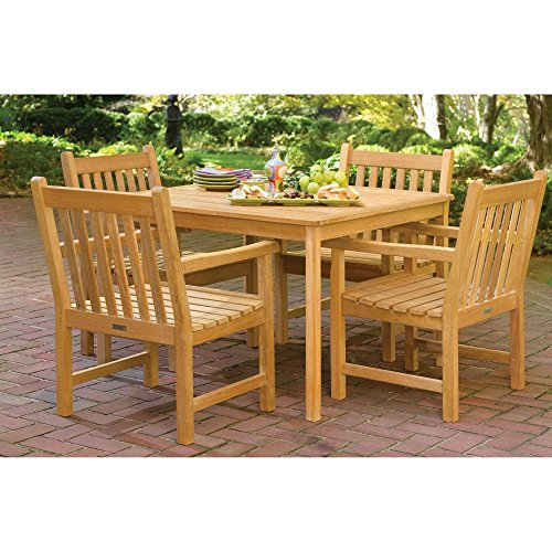 Oxford Garden Classic 5 Piece Outdoor Dining Set