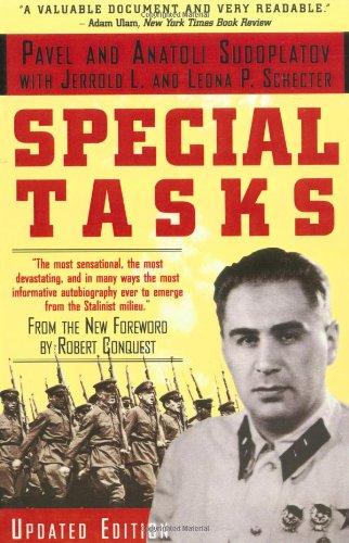 Special Tasks, by Anatoli Sudoplatov, Pavel Sudoplatov, Leona P. Schecter, Jerrold L. Schecter