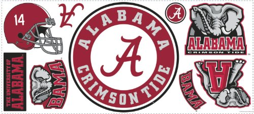 Roommates Rmk2118Gm University Of Alabama Peel And Stick Wall Giant Wall Decals front-108845