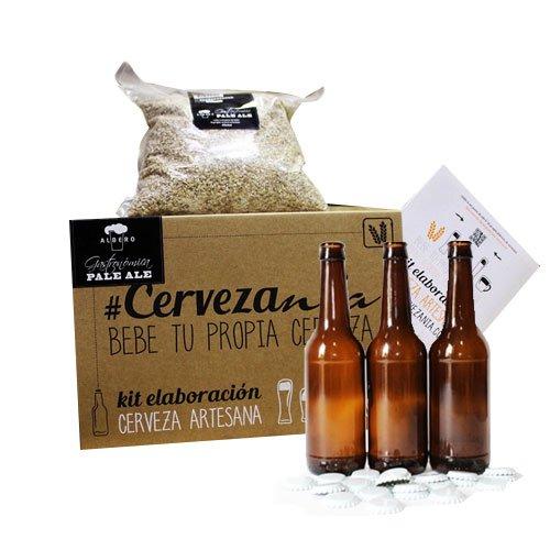Kit-para-Fabricar-Cerveza-Artesana-Pale-Ale-16-Botellas-de-Cerveza-de-33-cl