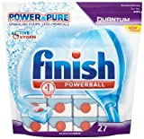Finish Power and Pure Quantum (Pack of 1, Total 27 Tablets)