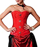 Burlesque-Boutique Women's Victorian Steampunk Revolution Corset