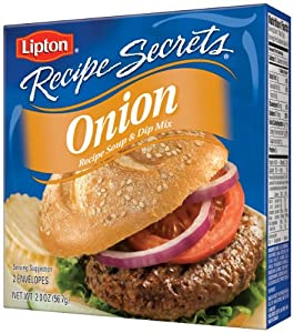 Lipton Recipe Secrets, Onion, 2Count 2Ounce Boxes (Pack of 6)