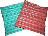 【 NEW エアざぶ 2枚入 】エアー ざぶとん クッション フットレスト に使用可能。 軽くて 持ち運びに便利なグッズ