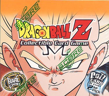 Dragonball Z Score Trading Card Game Babidi Saga Booster Pack [12 Cards] - 1