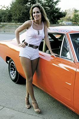 Catherine Bach The Dukes Of Hazzard 24X36 Poster Car