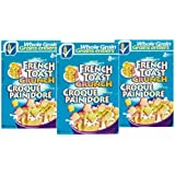 French Toast Crunch Cereal, Pack of 3