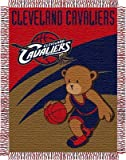 NBA Cleveland Cavaliers 36-Inch-by-46-Inch Woven Jacquard Baby Throw Amazon.com