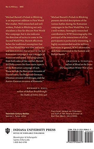 Prelude to Blitzkrieg (Twentieth-Century Battles)