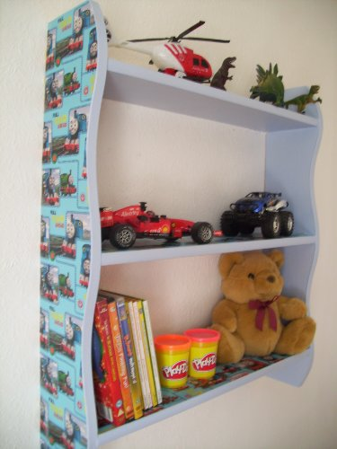 Boys Thomas The Tank Engine Shelves, Childrens Bedroom, Furniture, Toy Storage, Nursery, Bookcase