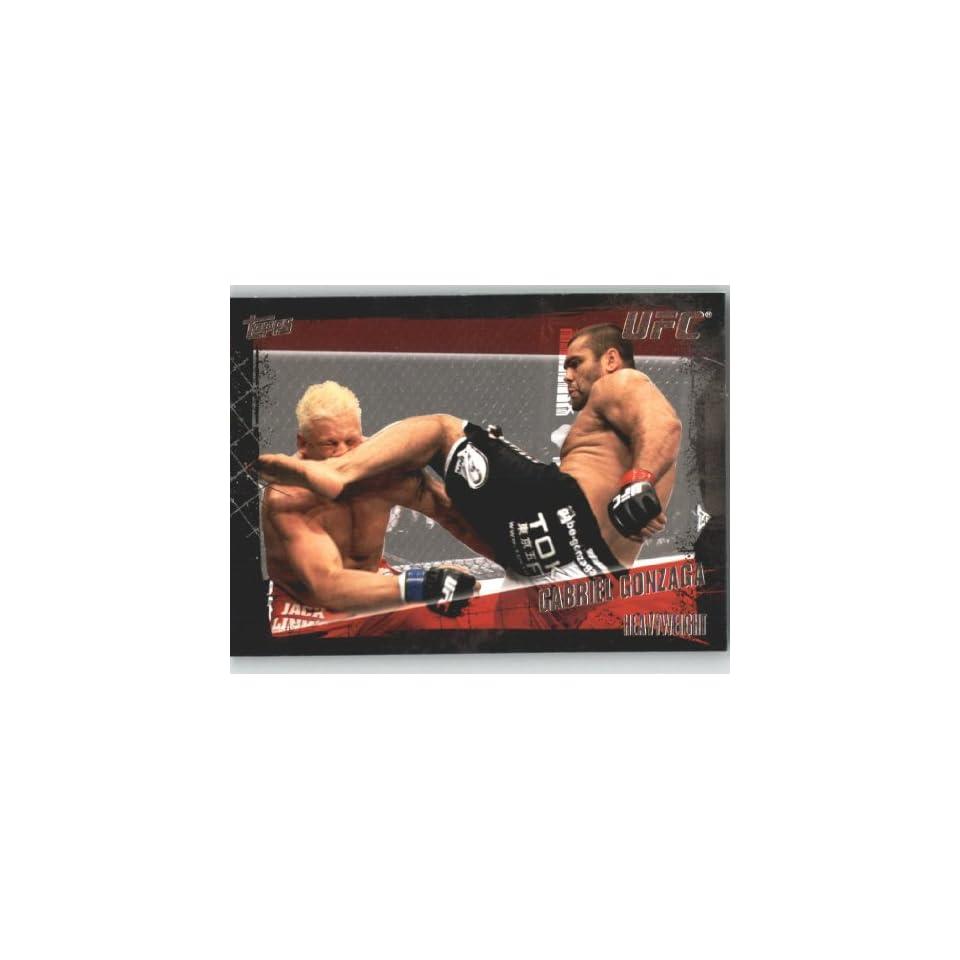 2010 Topps UFC Trading Card # 68 Gabriel Gonzaga (Ultimate