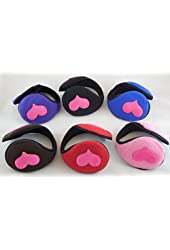 MUU40205 HEART EAR MUFF(6/PACK)