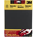 3M Wetordry Sandpaper, 9-Inch by 11-Inch, Extra Fine 320 Grit, 5-Sheet