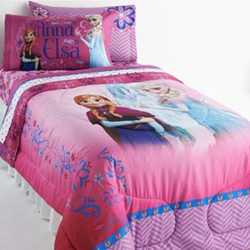 Disney Frozen Twin Comforter and Sheet Set