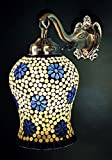 Turkish Wall Light & Lamp 10 X 9 Inches