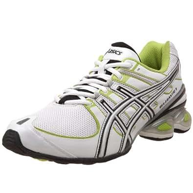 ASICS Women's GEL-Frantic 5 Running Shoe,White/Black/Lime,10 M US
