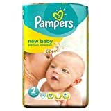 Pampers New Baby Pañales Tamaño 2Pack de 56por paquete