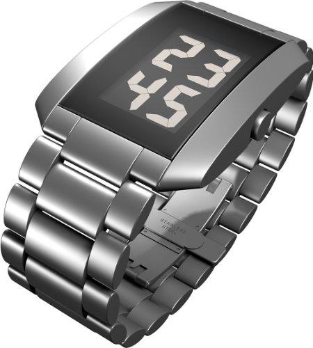 Rosendahl - 43232 - Montre Homme - Quartz - Digitale - Bracelet Acier Inoxydable Argent