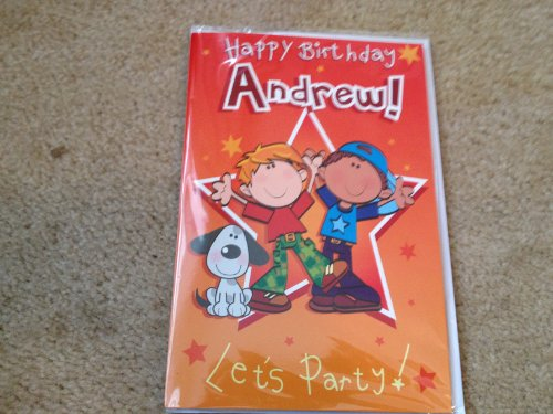 Happy Birthday Andrew - Singing Birthday Card - 1