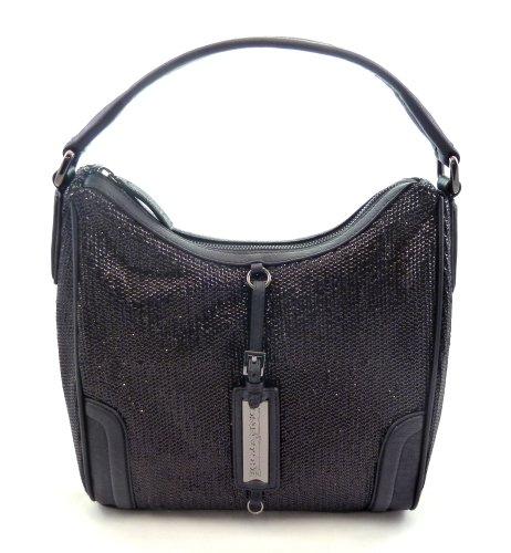 ermanno-scervino-elegante-glitzernde-abendtasche-handtasche-mit-pailletten-schwarz