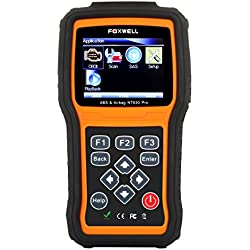 Foxwell NT630 Scan Tool Engine + ABS + Airbag SRS Diagnostic Scan & Reset Code Reader Tool Air Bag Crash Data Reset Car Diagnostic Scanner