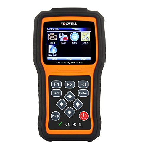 Foxwell NT630 Scan Tool Engine + ABS + Airbag SRS Diagnostic Scan & Reset Code Reader Tool Air Bag Crash Data Reset Car Diagnostic Scanner (Srs Module Reset compare prices)