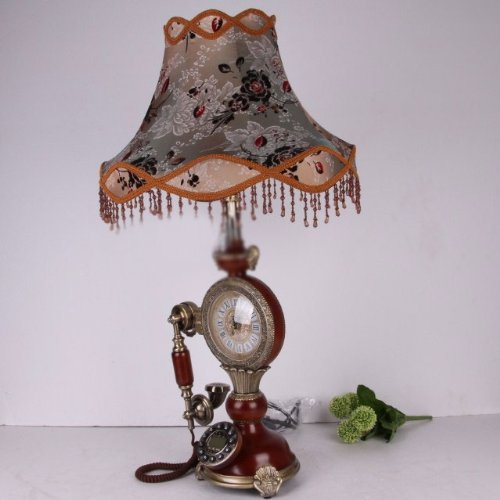 antique telephone antique phone old vintage telephone phones retro telephone new European pastoral Antique Telephone retro fashion craft clock table lamp show caller ID