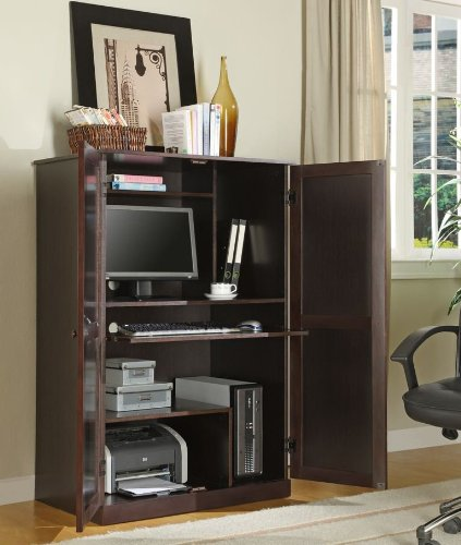 Buy Low Price Comfortable Innovex Computer Armoire (B00405SM3I)