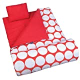 Wildkin Big Dot Red & White Sleeping Bag