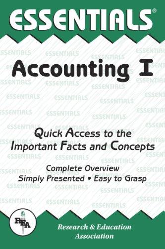 Accounting I Essentials (Essentials Study Guides) (v. 1)