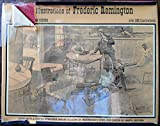 img - for The Illustrations Of Frederic Remington with a commentary by Owen Wister, Edited With A Concise Biography and An Account Of Remington's Work And Career by Marta Jackson book / textbook / text book