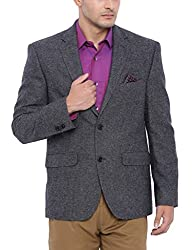 SUITLTD Grey Tweed Poly wool Regular fit Jacket