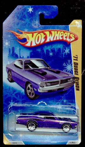 Hot Wheels 2009-013/190 New Models 13/42 '71 Dodge Demon SNOWFLAKE Card 1:64 Scale - 1