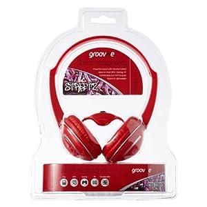 Clearance  iChoose® RED DJ Stereo Headphones