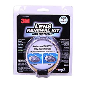 3M 39045 Headlight Renewal Kit with Protectant $8.65